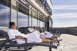 We Group Kungsbacka Badhus Relax Terrass