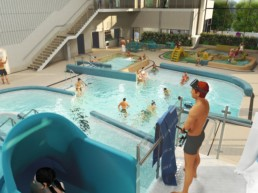 Nya badhuset i Kungsbacka We Group