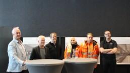 Kiruna Badhus första spadtaget We Group