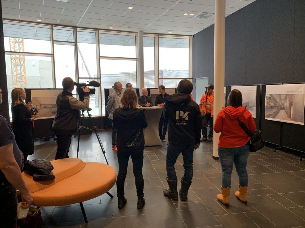 Kiruna Badhus första spadtaget intervju We Group