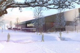 Exteriör Kiruna Badhus We Group